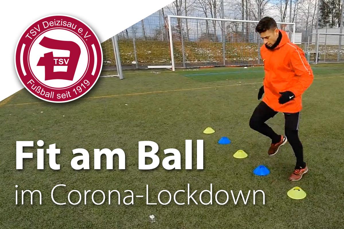 Fit am Ball im Corona-Lockdown