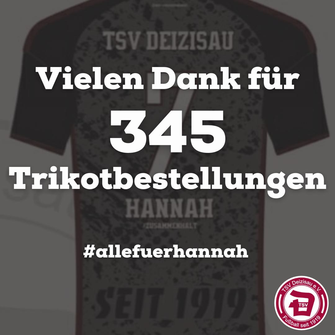 FINALER STAND SPENDENTRIKOT HANNAH